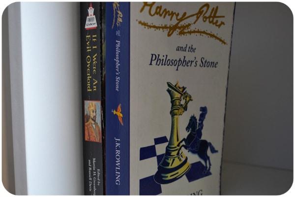 Minha estante de livros