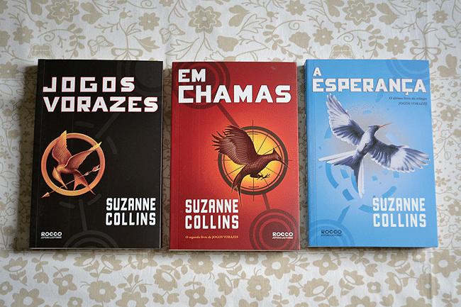 Olha o que chegou: Trilogia Jogos Vorazes
