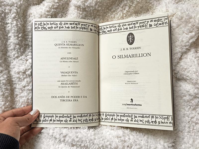 O Silmarillion, de J. R. R. Tolkien