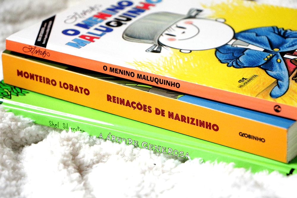 3 livros #1: Dia das Crianças
