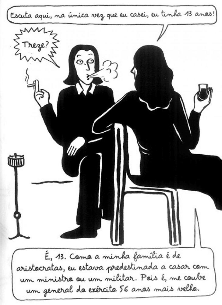 Bordados, da Marjane Satrapi