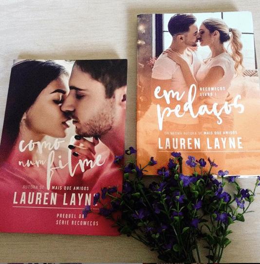 Em pedaços, de Lauren Layne - Série Recomeços #1