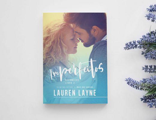 Imagem com a capa do livro Imperfeitos, da Lauren Layne