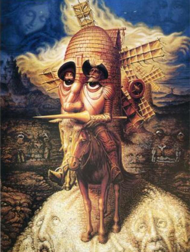Dom Quixote de La Mancha por Salvador Dalí