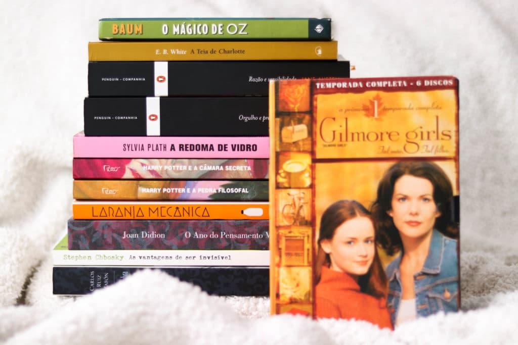 Desafio Literário Rory Gilmore Book Project