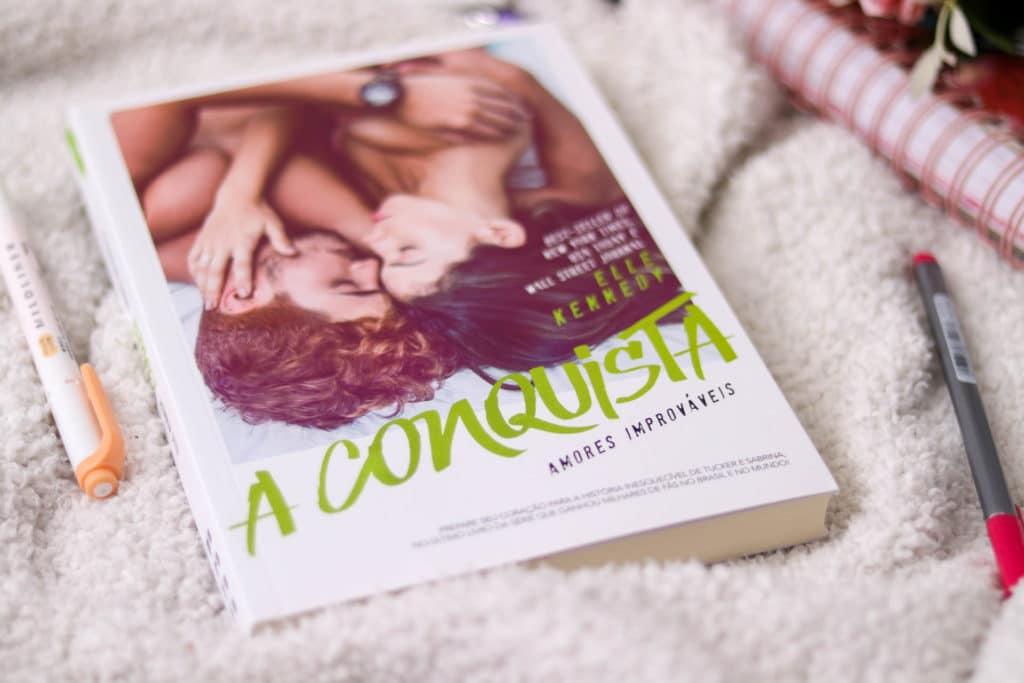 A conquista, de Elle Kennedy | Amores Improváveis #4