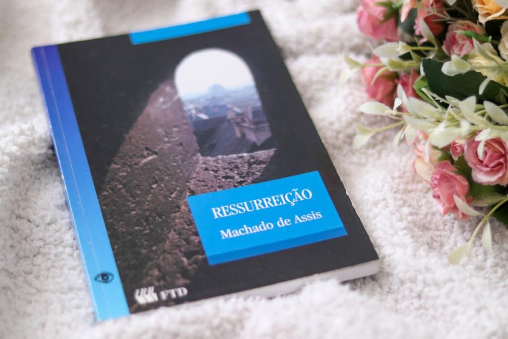 Livro Ressurreição, de Machado de Assis