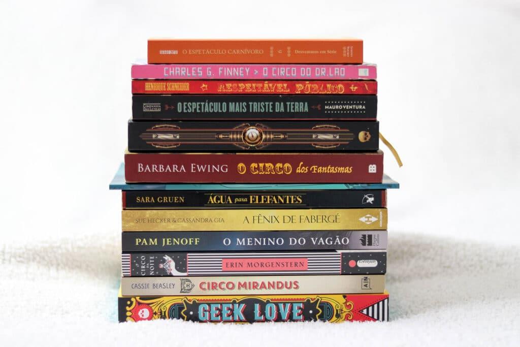 Livros sobre circo