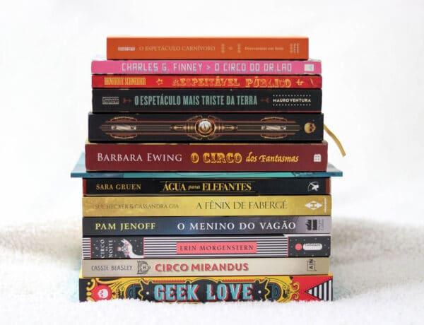 15 livros sobre circo